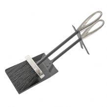 Hearth Tidy Loop - Black/Pewter